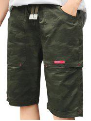 Camouflage Big Pocket Shorts -