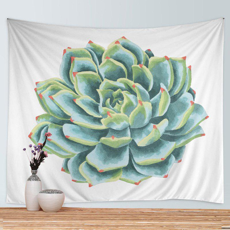 Store Wall Hanging Art Decoration Succulents Print Tapestry
