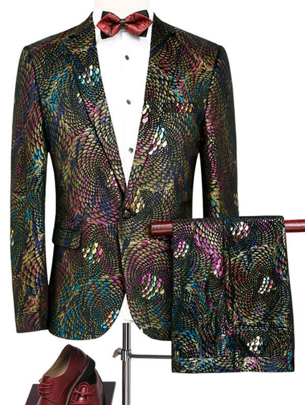 Twin-set Blazer Motif d'Ecaille Colorée