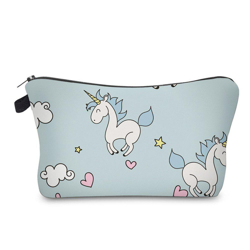 Shops Unicorn Print Makeup Bag