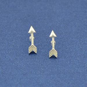 Small Arrow Shape Stud Earrings