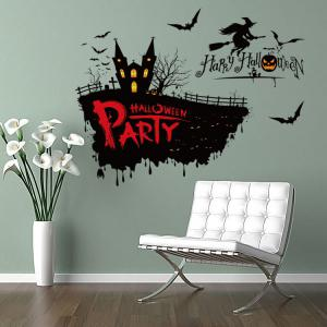 Happy Halloween Party Decor Wall Sticker