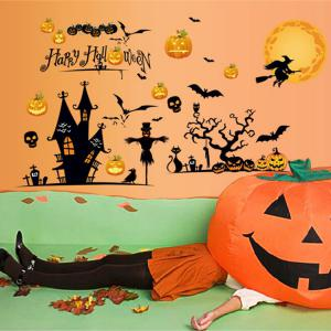 Party Decor Removable Halloween Wall Sticker