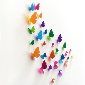Home Decor 3D Butterfly DIY Wall Sticker Set -