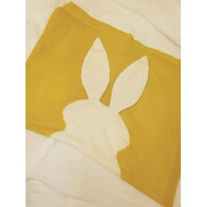 Soft Kids Bunny tricot couvert - Jaune