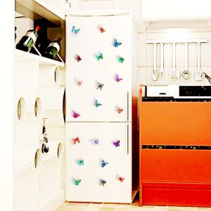 3D Butterfly DIY Stickers muraux Set Home Decoration - Multicolore Texture B