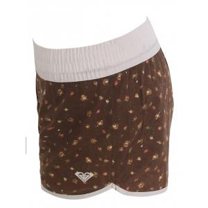 Printed Dolphin Swim Shorts - BROWN M