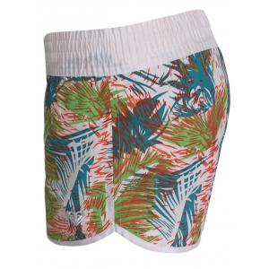 Printed Dolphin Swim Shorts - LIGHT BLUE M