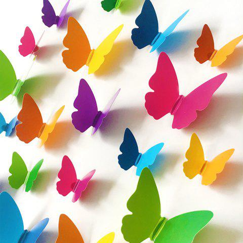 Discount Home Decor 3D Butterfly DIY Wall Sticker Set - COLORMIX  Mobile
