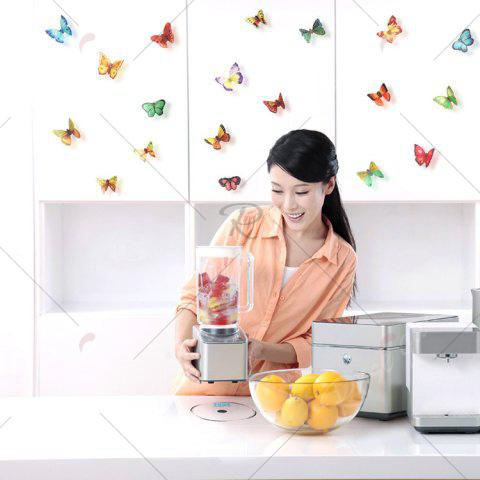 Shops 3D Butterfly DIY Wall Stickers Set Home Decoration - PATTERN A COLORMIX Mobile