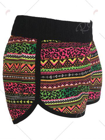 Buy Printed Dolphin Swim Shorts - L COLORMIX Mobile