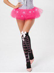 Tier Mesh Light Up Tutu Cosplay Jupe -