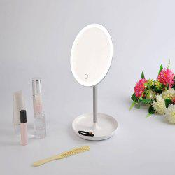 Portable USB Charging Make Up Storage Mirror Lamp