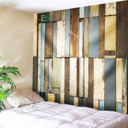 Vintage Wood Board Wall Art Tapestry