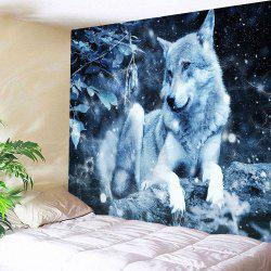 Wolf Animal Throw Tapestry Wall Art Decoration