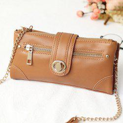 Turnlock Crossbody Wallet