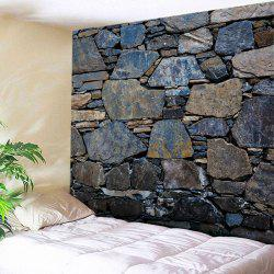 Stone Wall Print Tapestry Wall Hanging Art Decoration
