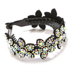 Rhinestone Flower Headwear Hairband