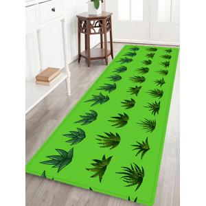 Succulents Plants Pattern Anti-skid Water Absorption Area Rug