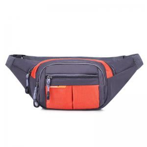 Color Block Unisex Waist Bag - Jacinth