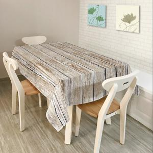 Wood Flooring Print Home Decor Fabric Table Cloth