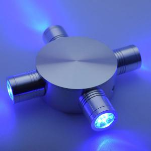 Indoor Outdoor Modern Fixture LED Wall Light - Blue - 40