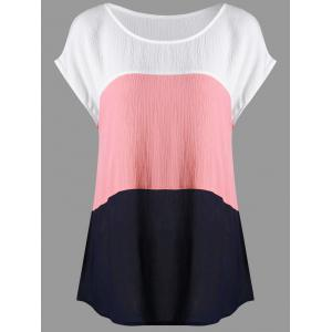 Cap Sleeve Scoop Neck T-shirt