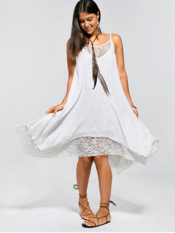 Robe blanche rosegal
