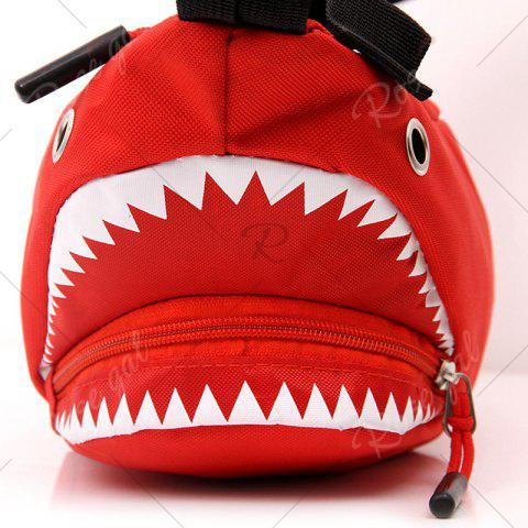 Outfit Shark Funny Cross Body Bag - RED  Mobile