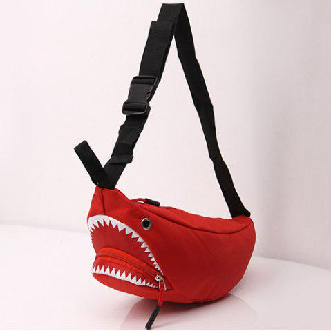 Shark Funny Cross Body Bag