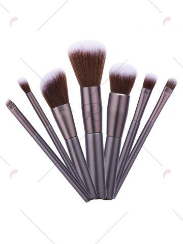 Buy Nylon Beauty Makeup Brushes Set - BROWN  Mobile