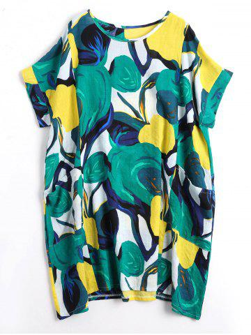 Funny Print Plus Size Casual Dress
