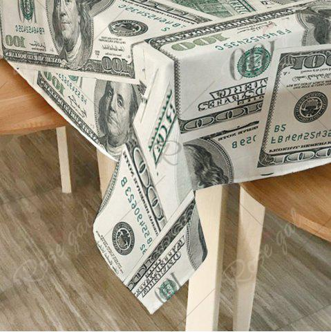 Shop Dollars Print Home Decor Dining Table Cloth - W54 INCH * L72 INCH GRAY Mobile
