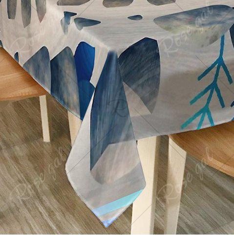 Outfits Printed Waterproof Home Decor Table Cloth - W54 INCH * L72 INCH COLORMIX Mobile