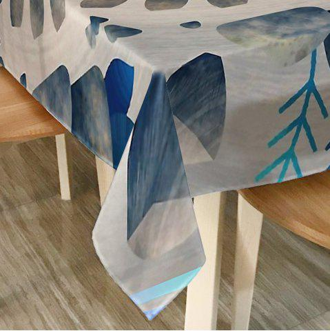 Store Printed Waterproof Home Decor Table Cloth - W60 INCH * L84 INCH COLORMIX Mobile