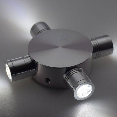 Affordable Indoor Outdoor Modern Fixture LED Wall Light - WHITE LIGHT  Mobile