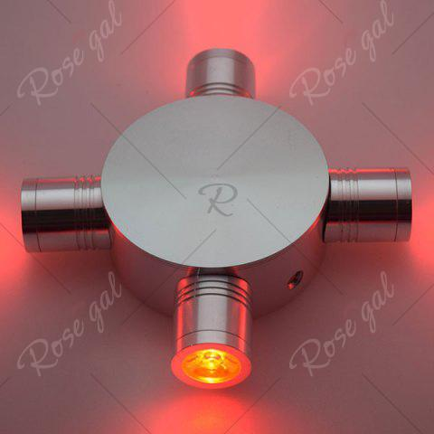 Fashion Indoor Outdoor Modern Fixture LED Wall Light - RED  Mobile