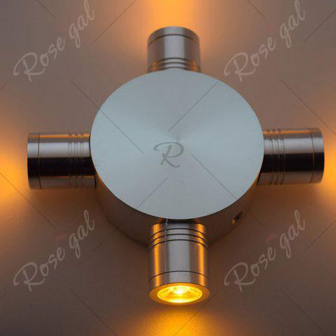 Shops Indoor Outdoor Modern Fixture LED Wall Light - YELLOW  Mobile