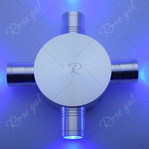 Sale Indoor Outdoor Modern Fixture LED Wall Light - BLUE  Mobile