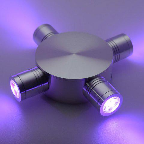 Latest Indoor Outdoor Modern Fixture LED Wall Light - PURPLE  Mobile