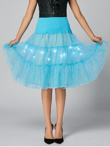 Unique Flounce Light Up Bubble Cosplay Skirt