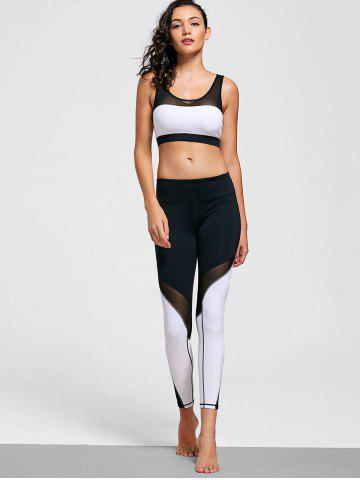 Buy Stretchy Color Block Active Suit