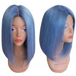 Medium Straight Center Part Bob Synthetic Wig