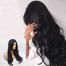 Long Middle Parting Wavy Synthetic Wig