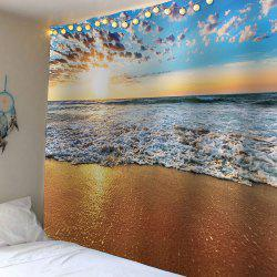 Waterproof Beach Scenic Wall Hanging Tapestry