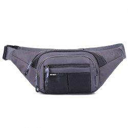 Color Block Unisex Waist Bag