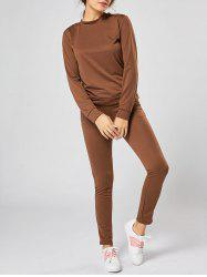 Long Sleeve Casual Track Two Piece Set