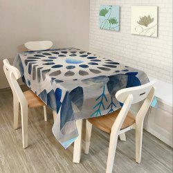 Printed Waterproof Home Decor Table Cloth - COLORMIX