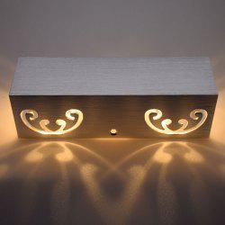 Modern Aluminum Cuboid Shape LED Wall Light
