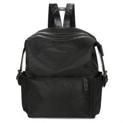 Nylon Headphone Hole Backpack